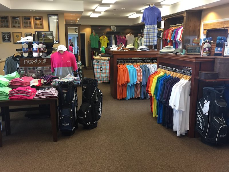 Photo of the Eagle Rock Golf Pro Shop