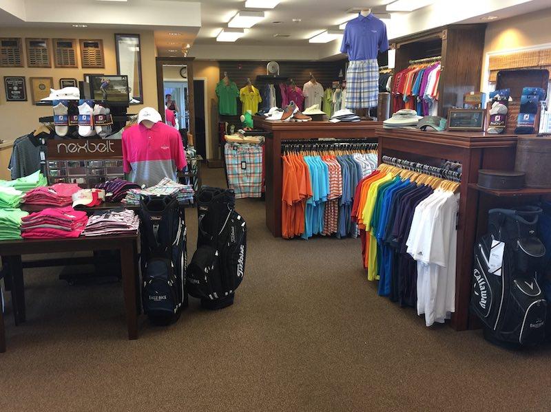 Photo of the Eagle Rock Golf Pro Shop