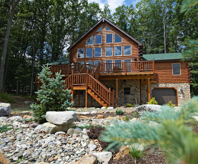 Photo of an Eagle Rock custom home
