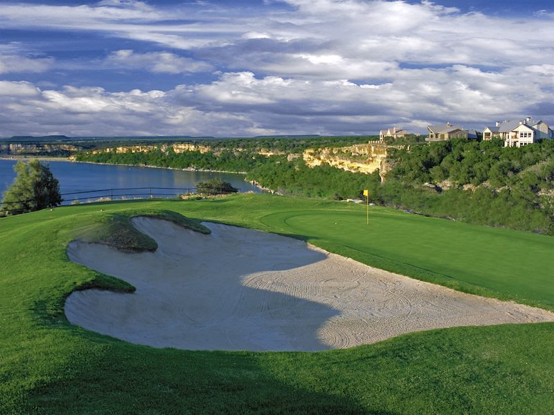 Photo of the golf course at The Cliffs