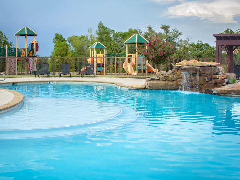 Photo of the Live Oak Pool