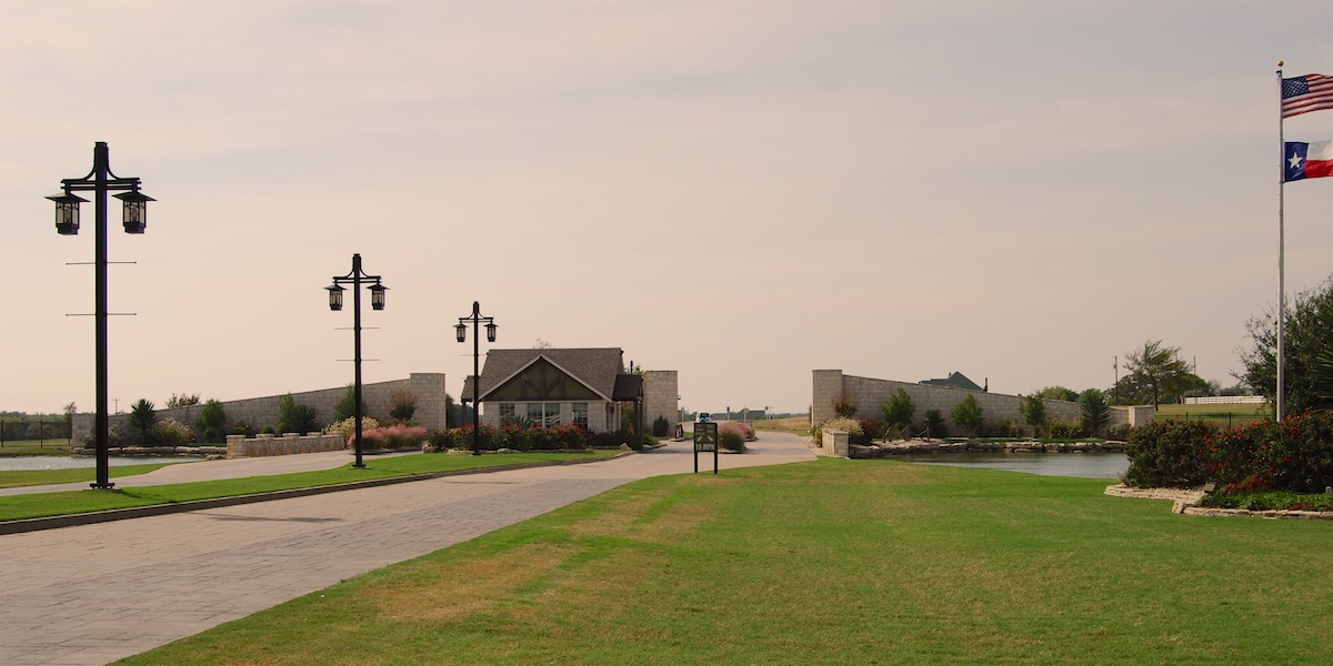 Photo of the entrance to White Bluff
