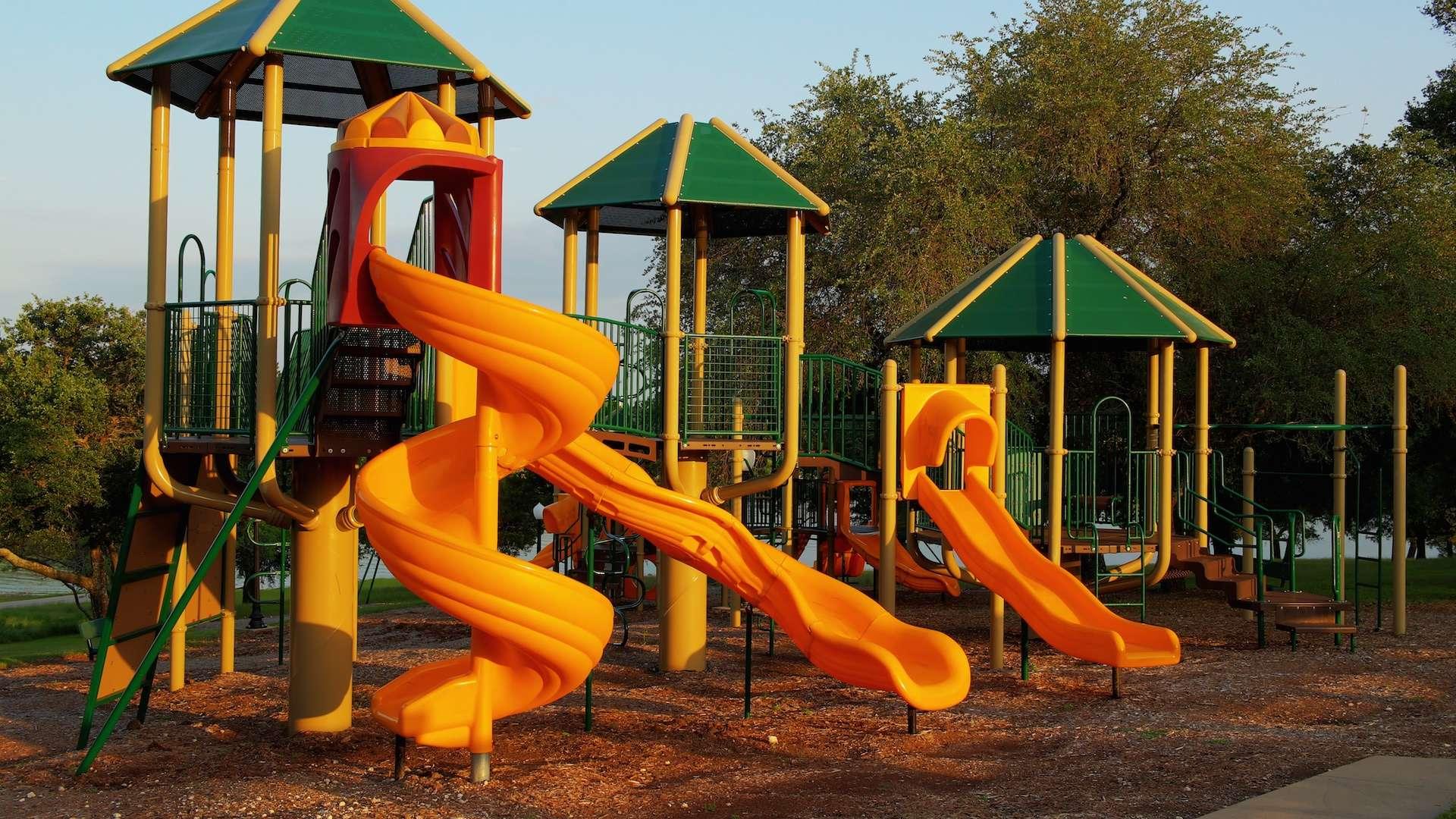 Photo of a playground at White Bluff