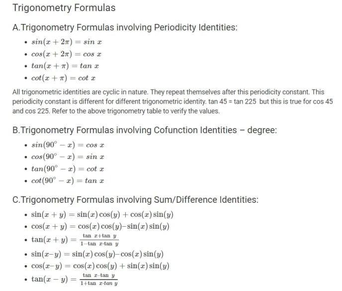Formula Trigonometry-1
