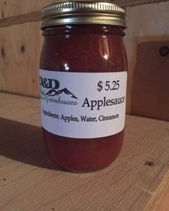 Red Applesauce
