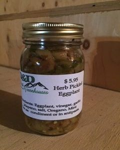Herb Pickled Eggplant