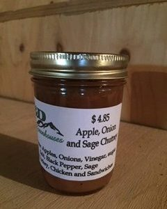 Apple, Onion, Sage Chutney