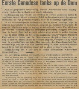 Uit De Waarheid van 7 mei 1945