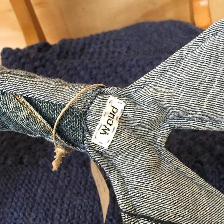 duurzaam hergebruikt jeans knuffel