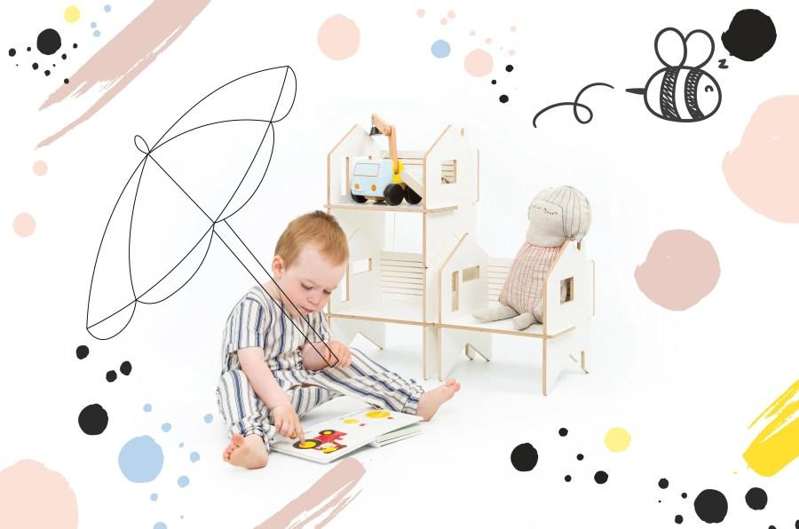 kinderstoeltje poppenhuis lakaluk