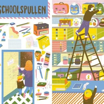 creatief schoolspullen