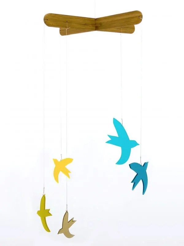 la miseto mobile vogels