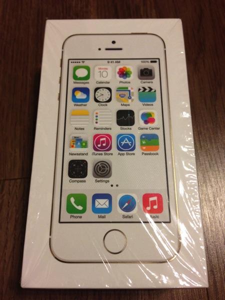 iPhone 5s外箱