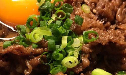【備忘録】神楽坂 焼肉 KAZU で肉丼を食べました!