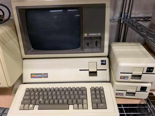曰くつきなApple III。実物見たのは初めて。