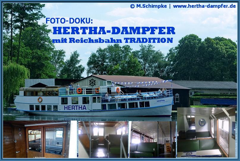 Foto-Bericht: Der HERTHA-Dampfer – Fußballlegende mit DR-Tradition!