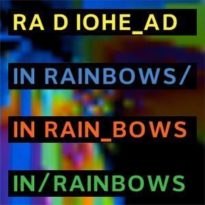 in rainbow