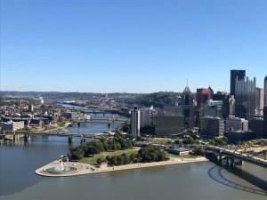 Mt Washington over Pittsburgh