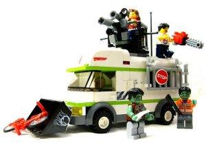 Lego Zombies - legocamper