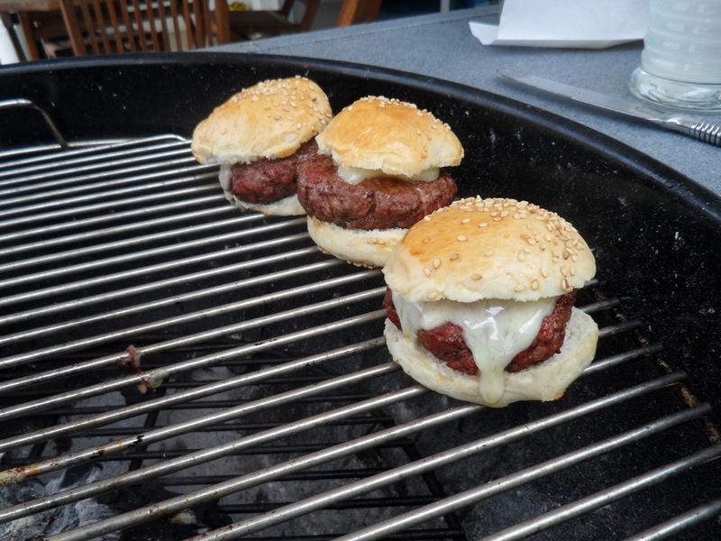 hamburguesas al carbon