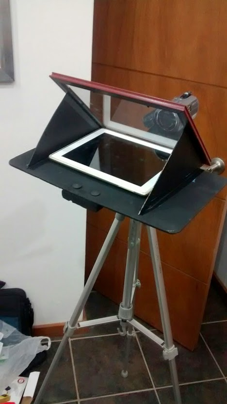 DIY Teleprompter