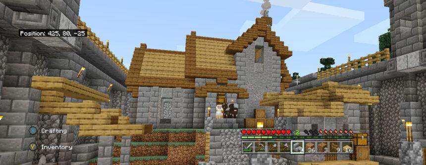 Torre de Honor en Minecraft