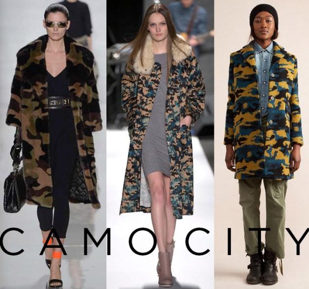 Fall 2013 Trend: Camo. Michael Kors, Rebecca Minkoff, Gryphon | DeSmitten