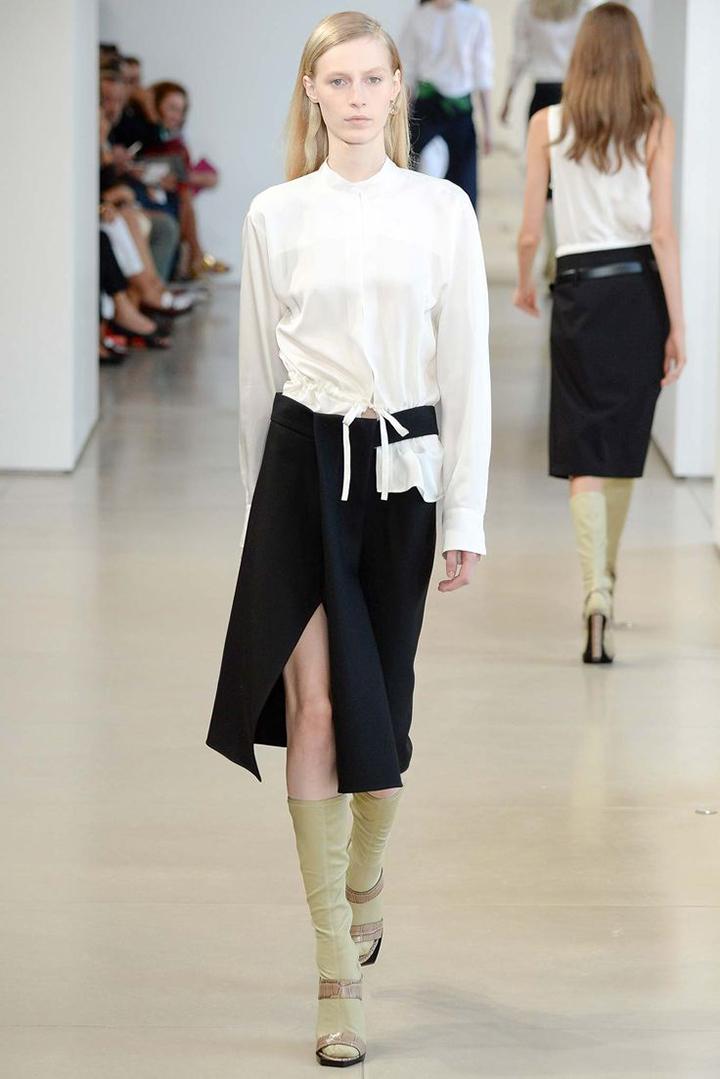 Diy jil sander white shirt desmitten design journal for Jil sander mens shirt