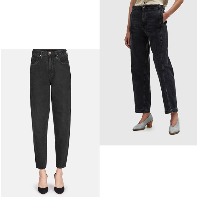the-new-season-of-jeans-black-denim-Balloon-Jean-from-Goldsign-and-the-Steer-Pant-from-Rachel-Comey-desmitten