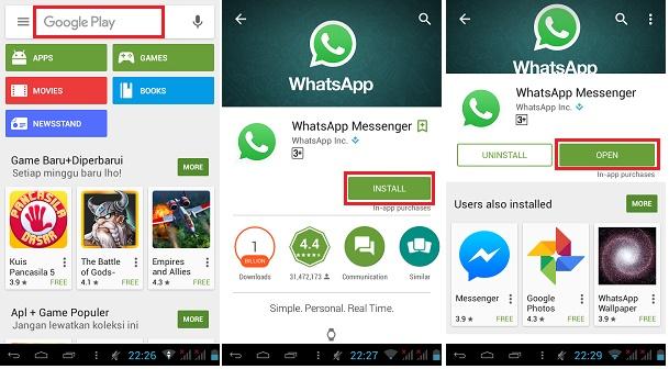 menggunakan Whatsapp  tanpa simcard-1