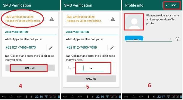 menggunakan Whatsapp  tanpa simcard- Registrasi Whatsapp-2