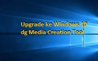 Windows 10: Upgrade dengan Media creation Tool