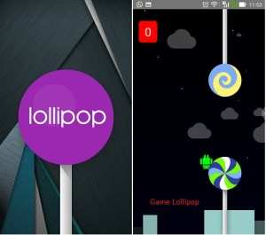 Asus Lollipop upgrade - Screenshot dan game Lollipop