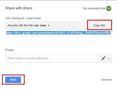 Google drive-Share via link-4