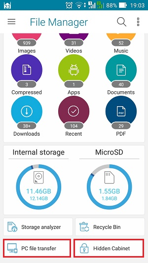 ZenUI File Manager
