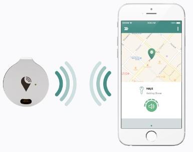 TrackR Breavo dan aplikasi TrackR