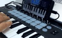 Mode koneksi USB MIDI