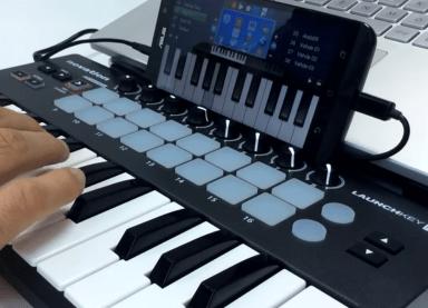 konek hp ke MIDI - mode koneksi usb
