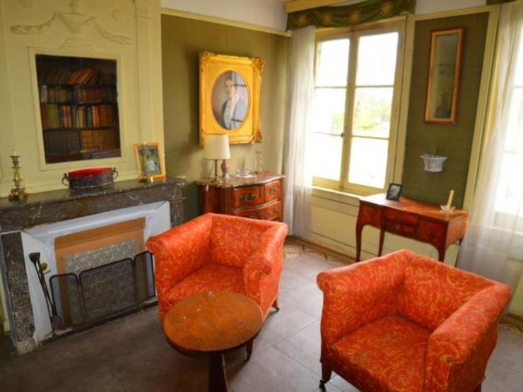 grande propriété bourgeoise salon