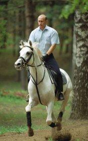 Putin Pale rider