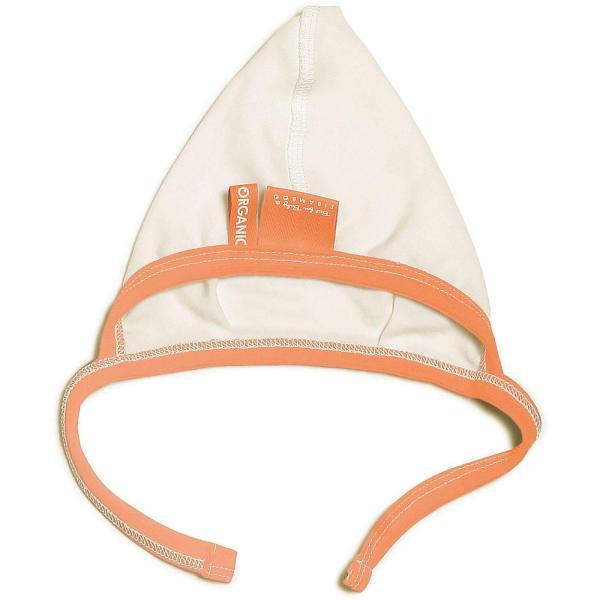 orange baby jersey cap soft material no coloring