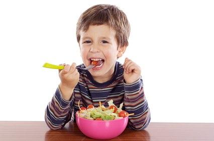 Die Ernährung von Kinder, für Schulen und Eltern