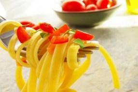 In der Ernährung des Sportlers, nicht nur Pasta