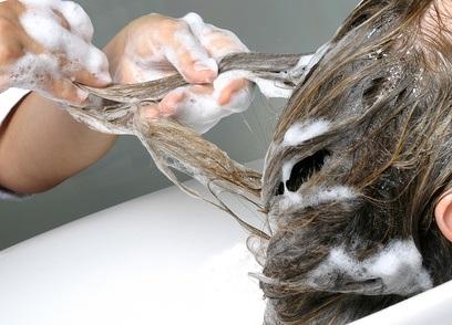 Gesundes und seidiges Haar