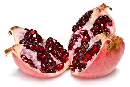 Granatapfel, eine exotische und nahrhafte Frucht