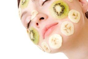 Früchte auf der Haut