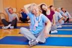 Übung bei älteren Menschen