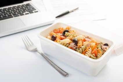 Praktische Rezepte wenn Sie im Büro essen