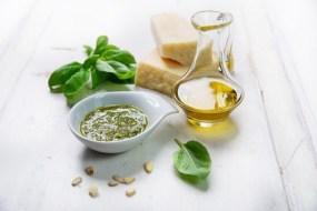 Pesto und  Varianten in vier leckeren Rezepten