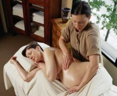 Shiatsu-Massage für Schwangere